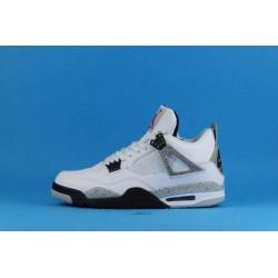Air Jordan 4 White Cement 840606-192 Blanc Gris